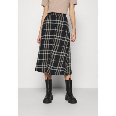 ソフト レベルス スカート レディース ボトムス LILLIAN MIDI SKIRT - A-line skirt - black