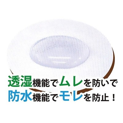 KAWAGUCHI 布ナプキン用 透湿性防水シート ベーシックタイプ 80-072