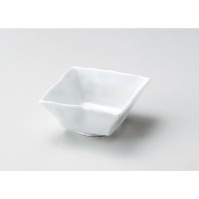 スーパー青白磁石目角小鉢 カ042-087