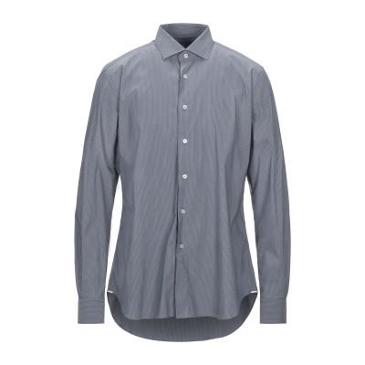 XACUS シャツ グレー 43 コットン 72% / ナイロン 25% / ポリウレタン 3% シャツ