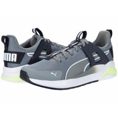 プーマ メンズ スニーカー シューズ Anzarun Cage Q3 MU Ultra Gray/Puma White/Fizzy Yellow