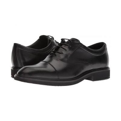 ECCO エコー メンズ 男性用 シューズ 靴 オックスフォード 紳士靴 通勤靴 Vitrus II Cap Toe Tie - Black