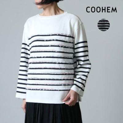 COOHEM (コーヘン) MARINE TWEEDY KNIT P/O / マリンツイーディニットプルオーバー