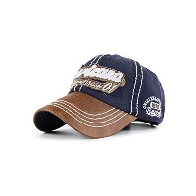VWill キャップ メンズ レディース 帽子 野球帽 ゴルフ 欧米風 刺繍 カジュアル オシャレ アウドドア UVカット 調節可能 男女兼