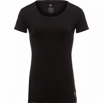 ストイック Stoic レディース Tシャツ トップス Short - Sleeve Performance Top Black