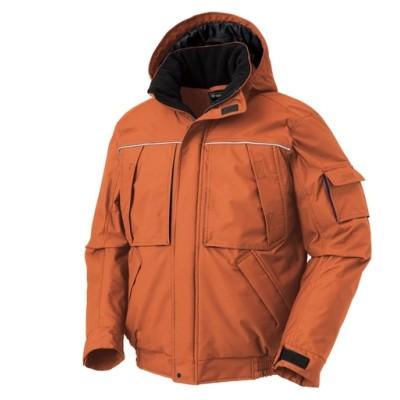 KURODARUMA 54233 透湿防水。着脱式フード防寒ジャンパー 作業服