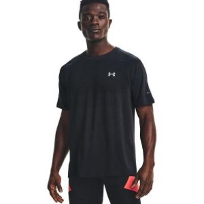 アンダーアーマー メンズ シャツ トップス Vanish Seamless Run Short-Sleeve Shirt Anthracite/Black/Reflective