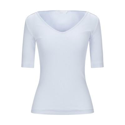 ファビアナフィリッピ FABIANA FILIPPI T シャツ スカイブルー 38 コットン 94% / ポリウレタン 6% T シャツ