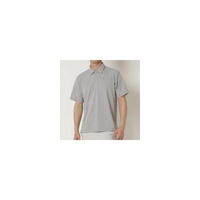 ミズノ  ミズノ クイックドライスパンポロシャツ[メンズ] グレー杢(b2ma103805)  スポーツ用品 取り寄せ