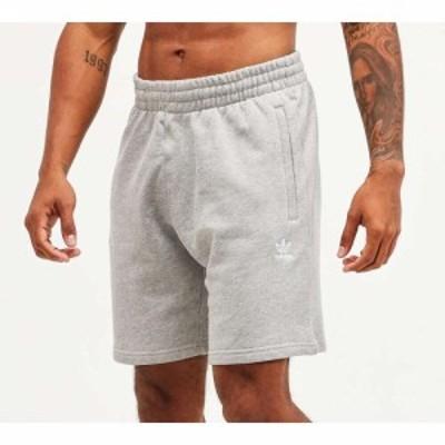 アディダス adidas Originals メンズ ショートパンツ ボトムス・パンツ essential fleece short Grey