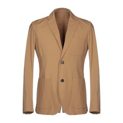 パオロ ペコラ PAOLO PECORA テーラードジャケット キャメル 48 95% コットン 5% ポリウレタン テーラードジャケット