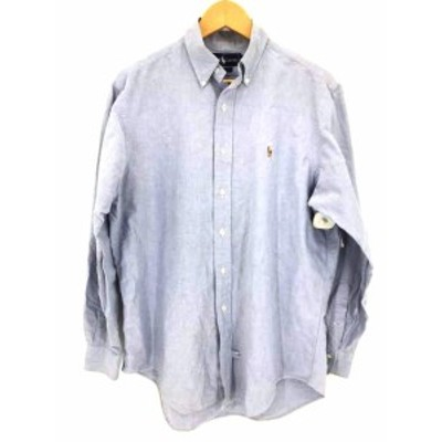 ラルフローレン RALPH LAUREN シャツ サイズ16-34 メンズ 【中古】【ブランド古着バズストア】