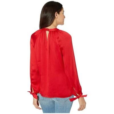 ユニセックス 衣類 トップス Trina Turk Water Lily Top Crimson ブラウス&シャツ