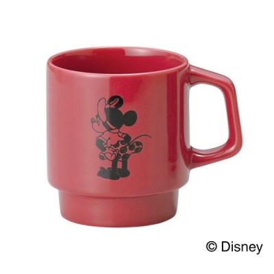 Disney ディズニー ミッキー&フレンズ スタッキングマグ N <NO!> ( D-MF02 ) 【 前畑 Mickey Mouse & Friends 陶器 カップ 化粧箱入り 】