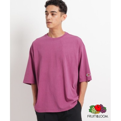 tシャツ Tシャツ フルーツオブザルーム5分袖BIGTシャツ