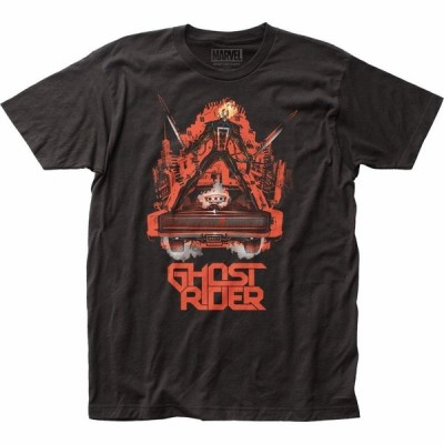 Tシャツ マーベルコミックス Ghost Rider Ghost Ride Marvel Comics Officially Licensed Adult Shirt S-XXL