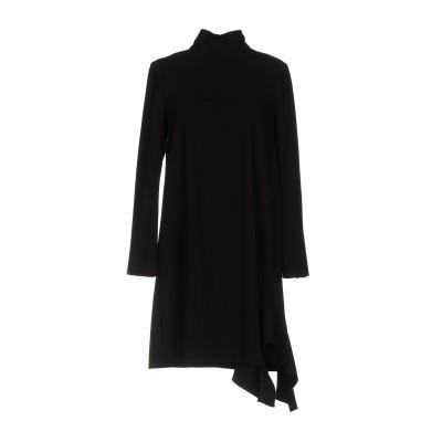 MADEMOISELLE TARA by TARA JARMON ミニワンピース&ドレス ブラック 40 ポリエステル 100% ミニワンピース&ド
