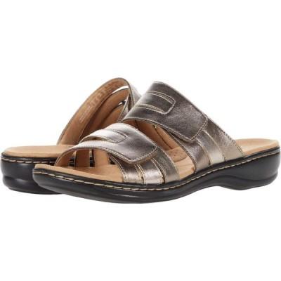 クラークス Clarks レディース サンダル・ミュール シューズ・靴 Leisa Zoe Metallic Synthetic Combination
