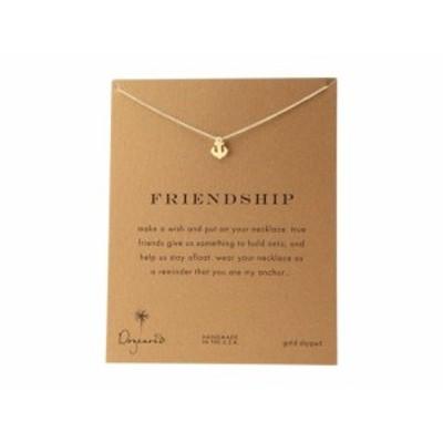 ドギャード レディースアクセサリ ネックレス ペンダント Friendship Anchor Reminder Necklace