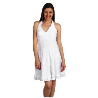 スカーリー レディース ワンピース トップス Cantina Halter Dress White
