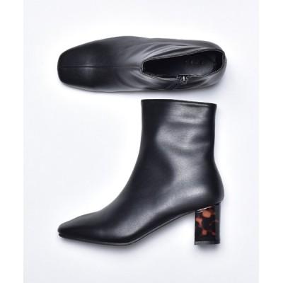 SVEC / ストレッチ スクエアトゥ ヒール ブーツ SVEC /シュベック WOMEN シューズ > ブーツ