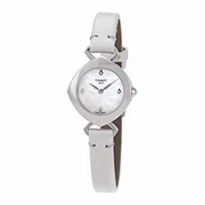 Tissot Femini-T Mother of Pearl Diamond Dial Ladies Watch T1131091611601