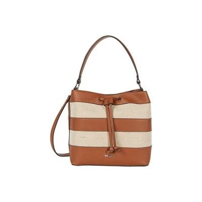 ナインウエスト Layton Bucket Bag レディース ハンドバッグ かばん Caramel Multi