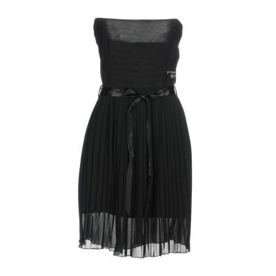 ブラッチャリーニ BRACCIALINI ミニワンピース&ドレス ブラック XL ポリエステル 100% ミニワンピース&ドレス
