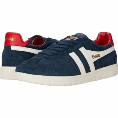 ゴーラ Gola メンズ シューズ・靴 Hurricane Suede Navy/Off-White/Deep Red