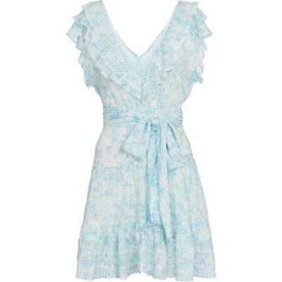 プーペット セント バース Poupette St Barth レディース ワンピース ミニ丈 ワンピース・ドレス della printed minidress Sky Blue Bree