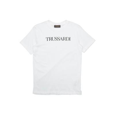 TRUSSARDI JUNIOR T シャツ ホワイト 10 コットン 100% T シャツ