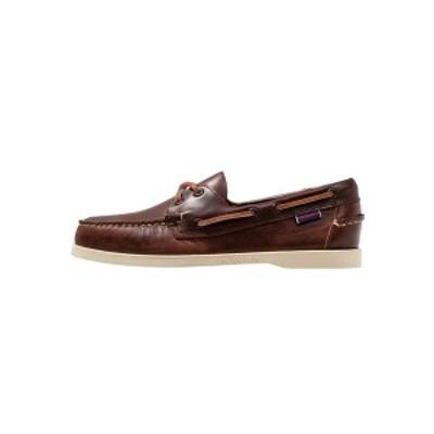 セバゴ メンズ デッキシューズ シューズ DOCKSIDES PORTLAND  - Boat shoes - brown brown