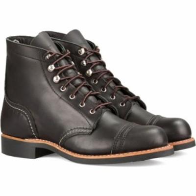 レッドウィング RED WING レディース ブーツ シューズ・靴 Iron Ranger Boot Black Boundary Leather