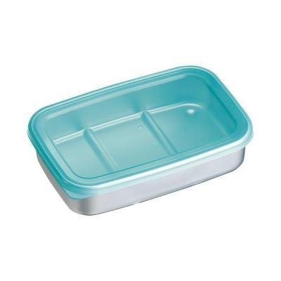厨房用品 保存容器 / アルミ急速冷凍保存容器 M ブルー 寸法: 間口:201 x 奥行:133 x H47mm 容量:840ml