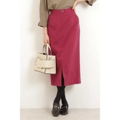 エヌ ナチュラルビューティーベーシック(N.Natural Beauty Basic*)/ベルト付タイトスカート