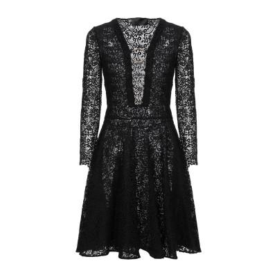PHILIPP PLEIN ミニワンピース&ドレス ブラック S ポリエステル 100% ミニワンピース&ドレス