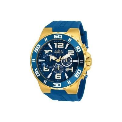 インヴィクタ INVICTA メンズ プロダイバー ブルー ポリウレタン バンド スチール ケース クォーツ 腕時計 24670
