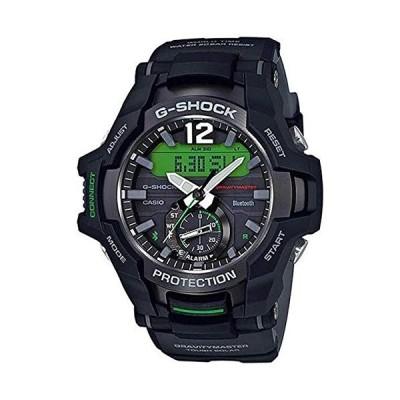 腕時計 カシオ メンズ GRB100-1A3 Casio GRB100-1A3 Gravitymaster Men's Watch Black 53.8mm Resin
