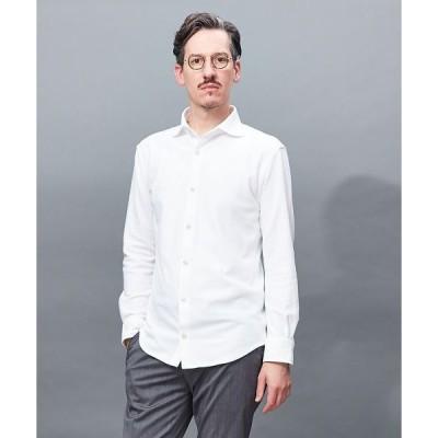 ABAHOUSE / アバハウス 【Recency of Mine】カラミメッシュジャージーシャツ