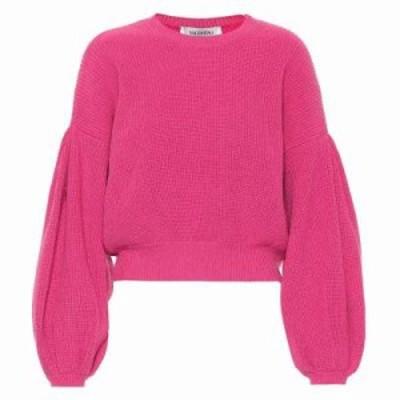 ヴァレンティノ ニット・セーター Cashmere and wool sweater Pink