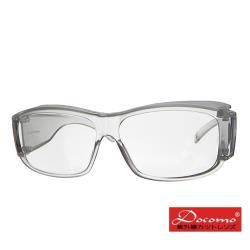【Docomo】防疫專用 防風防飛沫護目鏡 可包覆近視眼鏡於內 MIT台灣製