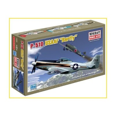 "新品Minicraft Models P-51D Mustang ""Bar Fly"" 1/144 Scale並行輸入品"