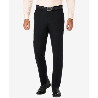 ハガール カジュアルパンツ ボトムス メンズ J.M. Slim Fit 4-Way Stretch Flat Front Dress Pants Black