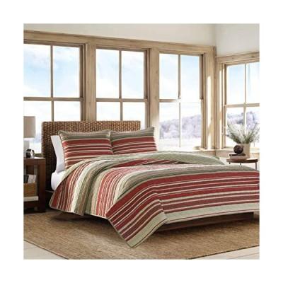 Eddie Bauer Home  ヤキマコレクション  寝具セット - 100%コットン 軽量キルト ベッドスプレッド プレウォッシュ処理でさらに快