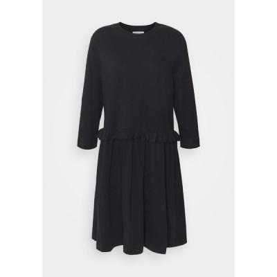リバティーン リバティーン ワンピース レディース トップス CURL - Jersey dress - black