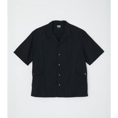 ナイロンタスランワークシャツ BLK