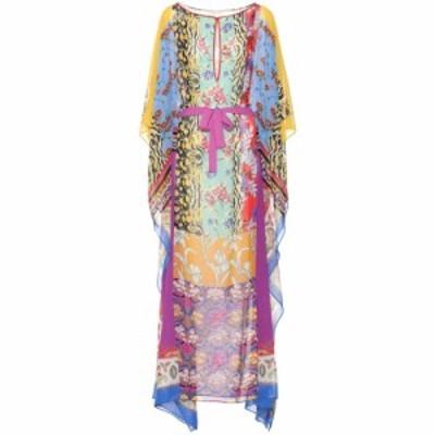 エトロ Etro レディース ワンピース ワンピース・ドレス Printed silk dress