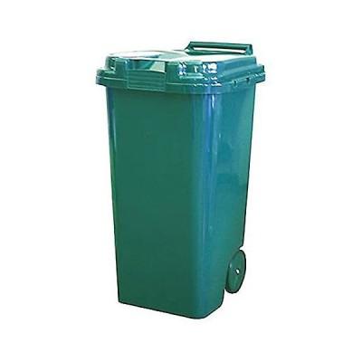 平和工業 ゴミ箱 トラッシュカン 90L 屋外用 グリーン (グリーン)