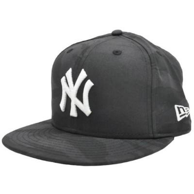 ニューエラ キャップ NEW ERA 59FIFTY タイガーストライプカモ ダークグレー×ブラック ヤンキース タイガーストライプカモ 11781639 メンズ 帽子