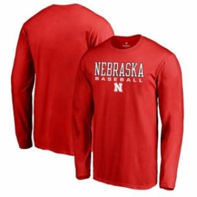 Fanatics Branded ファナティクス ブランド スポーツ用品  Fanatics Branded Nebraska Cornhuskers Red True Sport Bas